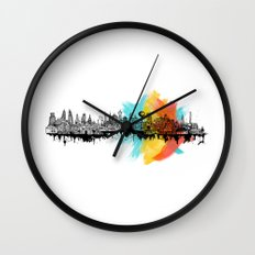 Long City Wall Clock