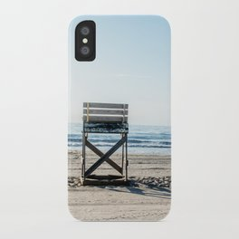 While the Lifeguards Away iPhone Case