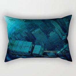 The End of the Beginning Rectangular Pillow