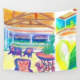 caribe hotel Wall Tapestry