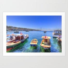 The Bosphorus Istanbul Art Print