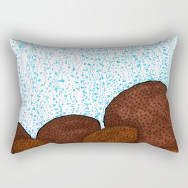 Siderastrea glynni Coral Rectangular Pillow