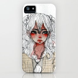 Ugh Girl iPhone Case