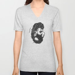 Weird Beard Unisex V-Neck