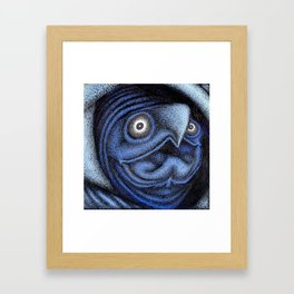 The Bass Playing Turtle Part 1 Framed Art Print