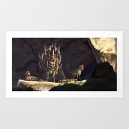 Protective Mother Art Print