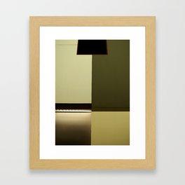 Wall Symmetry Framed Art Print