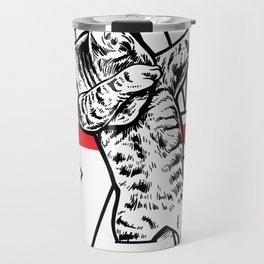 DAB Cat Tshirt Funny Dabbing Cat Dab Dance Shirt Travel Mug