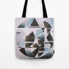 Landscape Abstraction Tote Bag