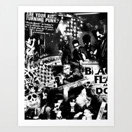 Punk Art Print