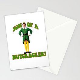 SON OF A NUTCRACKER! Buddy The Elf Christmas Movie Stationery Cards