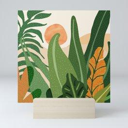 Desert Garden Sunset Mini Art Print