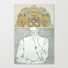 Thought Bubble Canvas Print