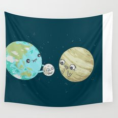 I'd Give you the Moon Wall Tapestry