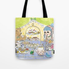 high tea party Tote Bag
