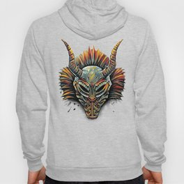 Killmonger Tribal Mask Hoody
