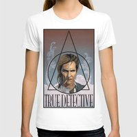 true detective T-shirts featuring True Detective by Pop Vulture