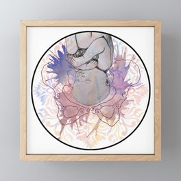 Preparing to be Birthed Framed Mini Art Print