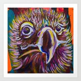 Magnanimous Buitre Art Print