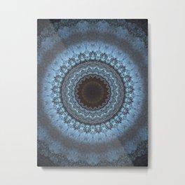 Bohemian Blue Metal Print
