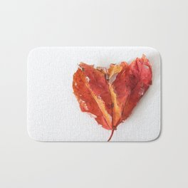 Heart Leaf Bath Mat