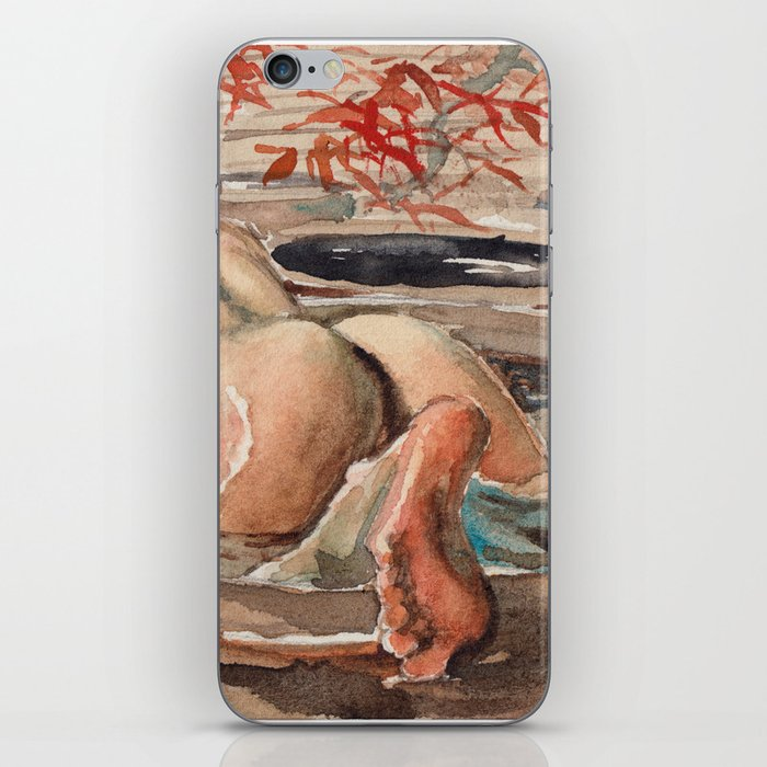 guangye  male butt iPhone Skin