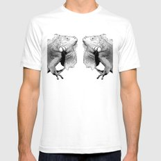 Iguana SMALL White Mens Fitted Tee