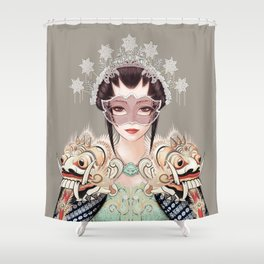 Nyi Roro Kidul Shower Curtain