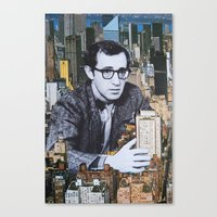 manhattan Canvas Prints featuring Manhattan by John Turck