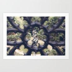 Savannah Garden Nymph Art Print