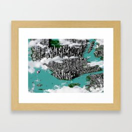 New York, New York [One World Trade Center Version] Framed Art Print