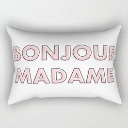 Bonjour Madame Rectangular Pillow
