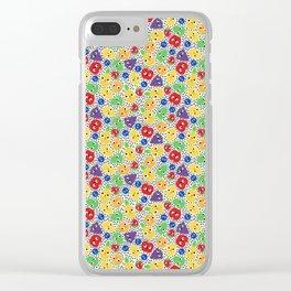 Fruit Salad Clear iPhone Case