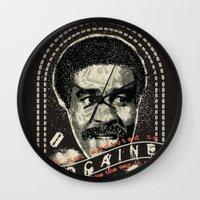 cocaine Wall Clocks featuring Cocaine by Geekleetist