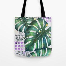 hojas Tote Bag