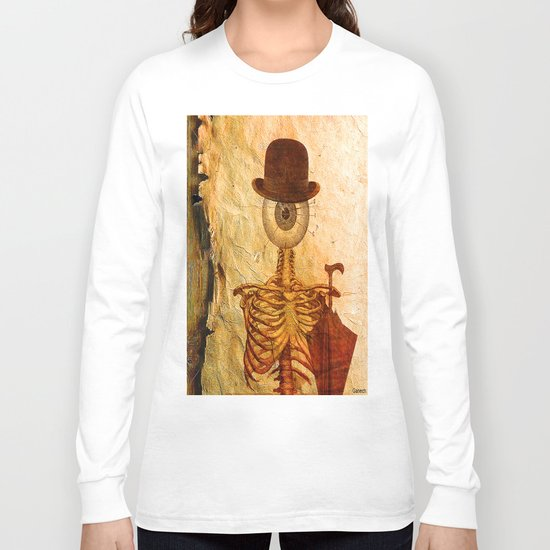 Monsieur Bone Long Sleeve T-shirt