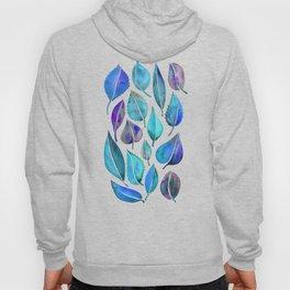 Cascading Leaves – Blue Palette Hoody