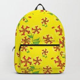 Doxie Flower - Dachshund Dog - Weiner Dog - Weenie Dog Backpack