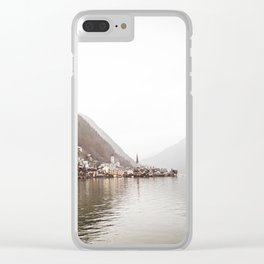 Reflections of Hallstatt Clear iPhone Case