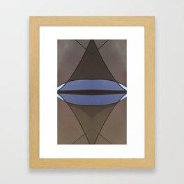 geometry under the sky Framed Art Print
