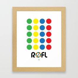 ROFL Framed Art Print