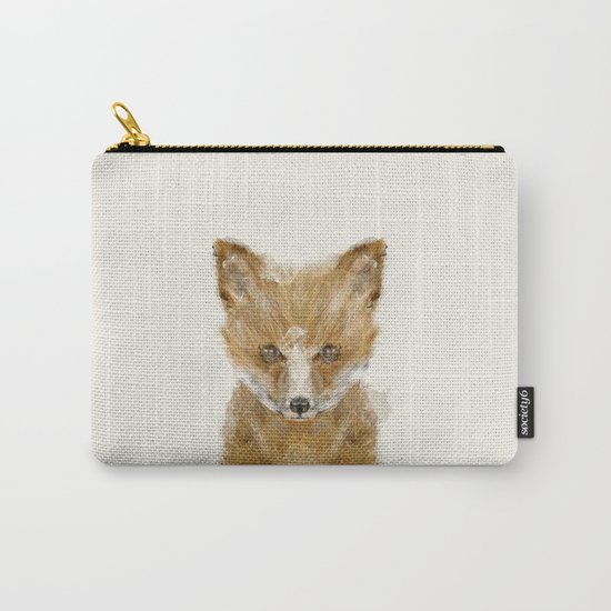 little fox cub Carry-All Pouch
