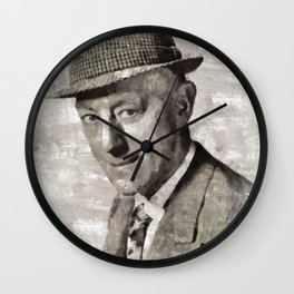 Sir Alec Guinness, Actor Wall Clock