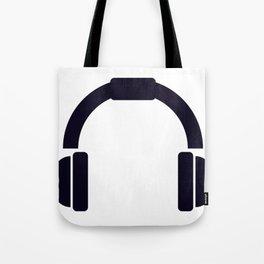 headphones Tote Bag
