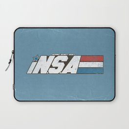 iN.S.A - iNternet Security Agency Laptop Sleeve