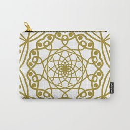 Mandala Gold and Plenty Carry-All Pouch