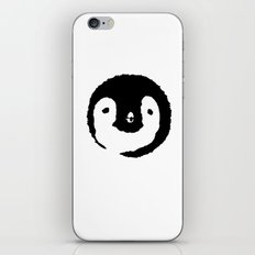 Baby Penguin Face iPhone & iPod Skin