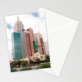 Big Apple Rollercoaster | New York New York hotel & casino | The Strip, Las Vegas | USA travel photography Stationery Cards