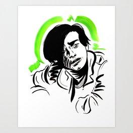John Connor Art Print
