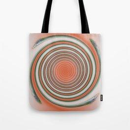 Spiral Abstract Tote Bag